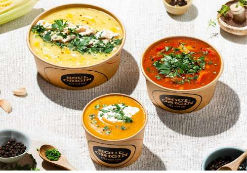 Soul Origin new winter soup range!